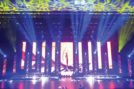 Beauty Pageant Stage Design Chauvet Professional Accents Stage At Miss Florida Usa