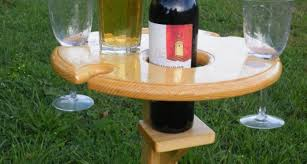 image 13 of 28 image to enlarge outdoor wine glass holder