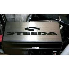 steeda 05 09 mustang gt 07 09 gt500 stainless fuse box cover steeda 05 09 mustang gt 07 09 gt500 stainless fuse box cover polished