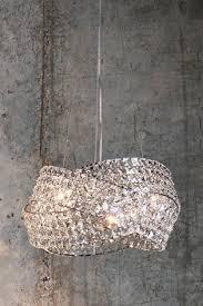 clear venetian 5 light chandelier