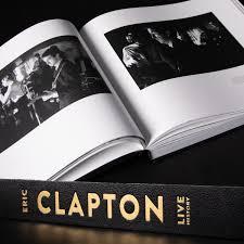 New Book: <b>Eric Clapton Live</b> History
