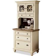 Riverside Furniture Coventry Two Tone Personal Workstation