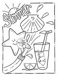 Small Picture The Beach For Kids Pages Kid Coloring Pages Summer On The Beach