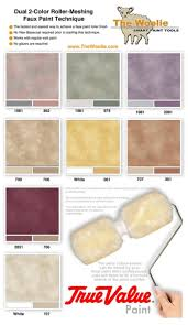 True Value Paint. Faux Finish Paint Color Combinations, Ideas, Samples and  Videos.
