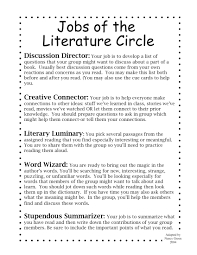 best images about literacy circles literature 17 best images about literacy circles literature student centered resources and texts
