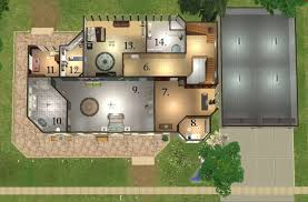 Mod The Sims  The Cullen House From The Twilight Books  Forks Cullen House Floor Plan