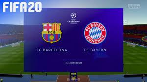 May 22, 2021 · fc bayern münchen 4, fc augsburg 1. Fifa 20 Fc Barcelona Vs Fc Bayern Munchen Champions League Youtube