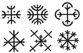 Aegishjalmur Helma Děsu 2 Tradice Pohanství Přírodní Magie