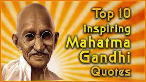 Gandhi Love Quotes Beauteous Top 48 Mahatma Gandhi Quotes Inspirational Quotes YouTube