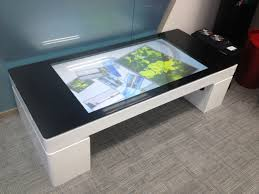 Interactive Coffee Table Touch Foils Adwindow Touch