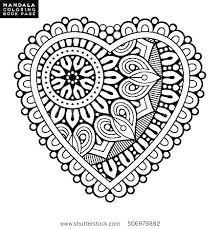 Mandala Coloring Pages For Kids Tonyshume