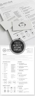 Free Resum Free Resume Templates for 100 Freebies Graphic Design Junction 20