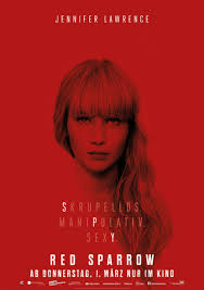 Red Sparrow - Motion picture with snow effects