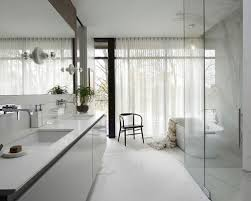Simple Modern Master Bathroom Design Large Trendy Walkin Shower Photo In Chicago And Innovation
