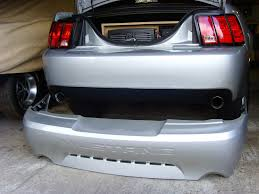 Pics of shaved/ smoothed 03/04 cobra bumper on new edge gt ...