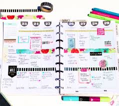 Weekly Planning The Happy Planner Weekly Planning Process Me My Big Ideas