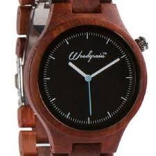amexi wooden watches for men real wood watch made unique wood grain handmade mens wrist watch natural red