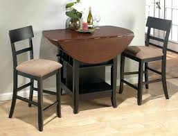 high top kitchen table with storage medium size of dining table sets for small spaces folding