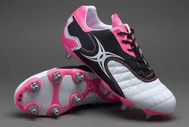 gilbert sidestep revolution sg soft ground rugby boots white black pink