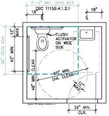 average size of a bathroom. Handicap Bathroom Size Single Toilet On Dimensions Best Bathrooms Design Ideas Average Of A