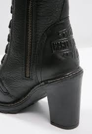 women boots harley davidson lunsford cowboy biker boots black