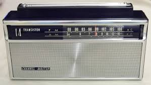 file channel master transistor two band am fm radio model  file channel master 14 transistor two band am fm radio
