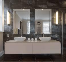 Image Gold Collect This Idea Doublemirrorgranitebathroom Freshomecom 38 Bathroom Mirror Ideas To Reflect Your Style Freshome