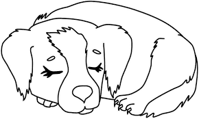 Small Picture Dog Coloring Sheets To Print Coloring Pages Ideas