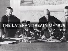 Image result for Lateran Treaty