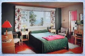 1950S Interior Design Cool 48s Vintage Postcard POCONO MOUNTAIN INN MOTEL COTTAGE R Flickr
