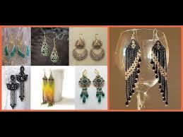 Stylish <b>Beaded</b> Earring <b>Designs</b> Idea <b>2019</b>-20=Earrings Jewellery ...