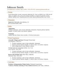 Free Resume Format Gorgeous Simple Resume Format Download In Ms Word Fresh Free Resume In Word