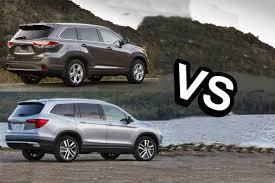 2015 Toyota Highlander VS 2016 Honda Pilot - DESIGN! - YouTube