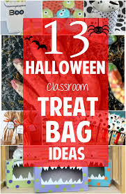 homemade halloween candy bags. Interesting Bags 13 Spooky And Creative DIY Halloween Classroom Treat Bag Ideas Throughout Homemade Candy Bags E