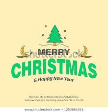 <b>Merry Christmas</b> Card <b>Creative Design</b> Light Stock Vector (Royalty ...