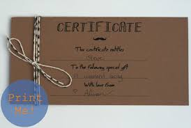 Make Your Own Gift Certificate Templates Free Make Your Own Printable Gift Cards Download Them Or Print