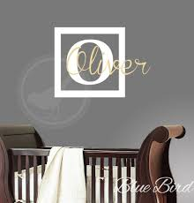 nursery name decals name wall decal