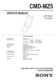 Sony CMD MZ5 User Manual