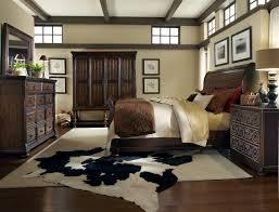 Oak Bedroom Whiskey Oak 4pc Sleigh Bedroom Set In Barrel Oak