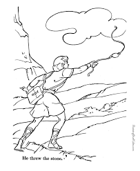 David Coloring Pages Bible Attractive Playing The Harp Page 2