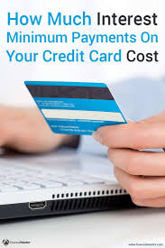 how credit cards interest calculated credit card minimum payment calculator