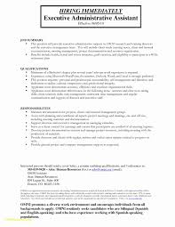 Resume For Admin Assistant Position Free Download Admin Executive