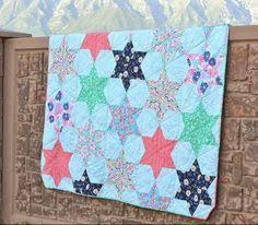 Star Pattern Quilt Impressive 48 Best Star Quilt Patterns Images On Pinterest Star Quilts Star