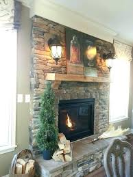 interesting decoration stacked rock fireplace stacked stone fireplace ideas install faux stone veneer pertaining