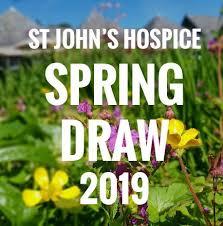 Prize Draw Tickets Spring Prize Draw 2019 Tickets St Johns