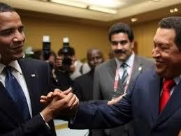Image result for obama chavez handshake etl freerepublic