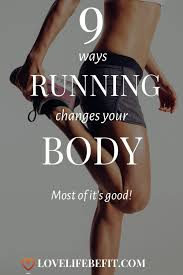 how running changes your body most of