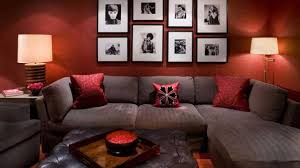 Red Living Room Furniture Brilliant Red Living Room Design Ideas Impactful And Visually