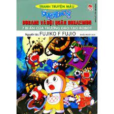Sách - Doraemon Tranh Truyện Màu - Dorami Và Đội Quân Doraemon - 7 Bí Ẩn  Của Trường Đào Tạo Robot