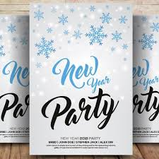 New Year Flyer Psd Template For Free Download On Pngtree